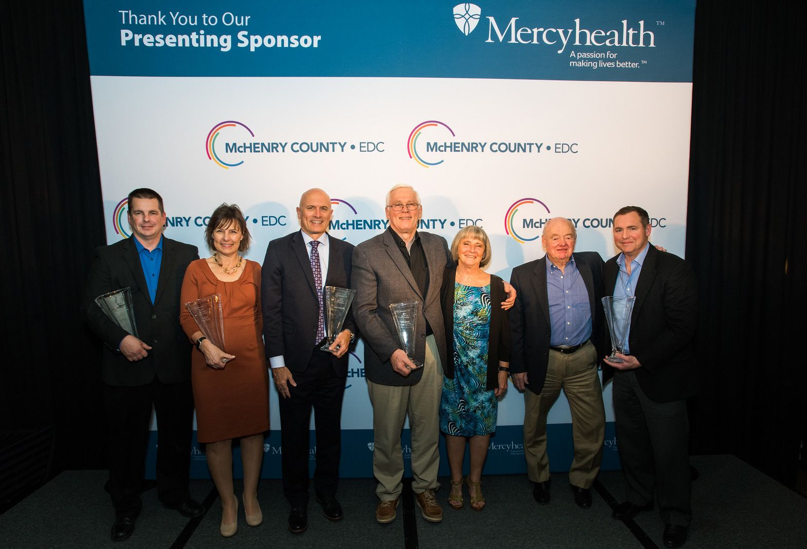 2018 Business Champion Award Winners